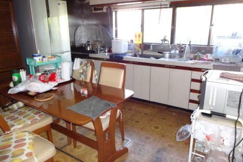 4.日本家屋・民家|1Fキッチン
