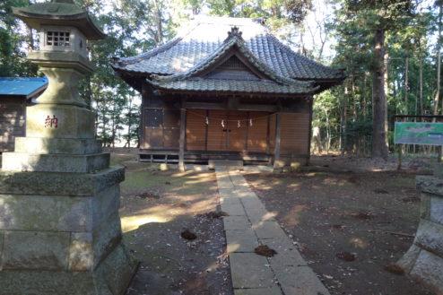 8.神社・集会所|参道・本殿