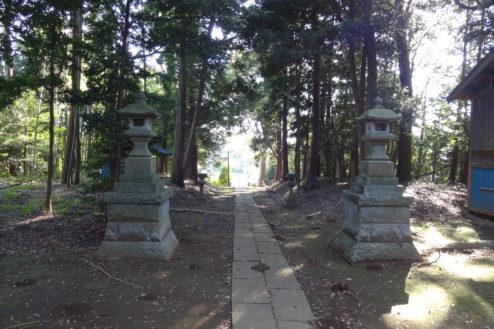 9.神社・集会所|参道