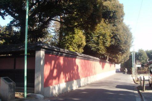 18.野田市市民会館|塀