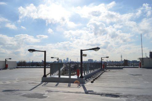 1.赤羽駅西口駐車場|屋上駐車場全体