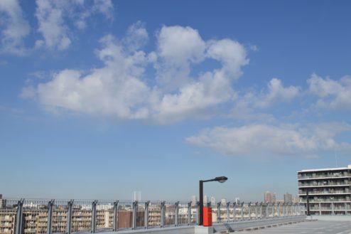 13.赤羽駅西口駐車場|屋上駐車場抜け