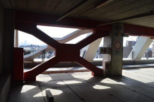 9.赤羽駅西口駐車場|9F屋内駐車場