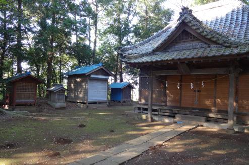 2.神社・集会所|本殿・境内社