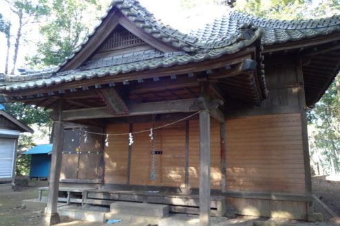 1.神社・集会所|本殿