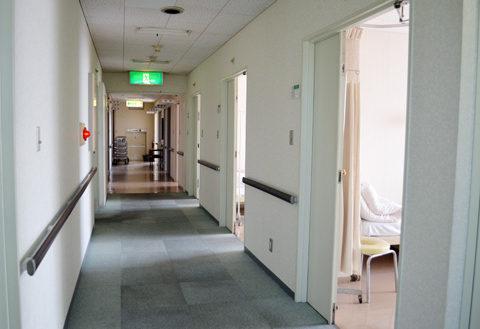 7.大黒病院|廊下