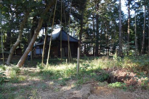 14.神社・集会所|竹林から本殿
