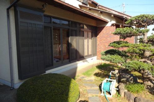 9.日本家屋・民家|園側