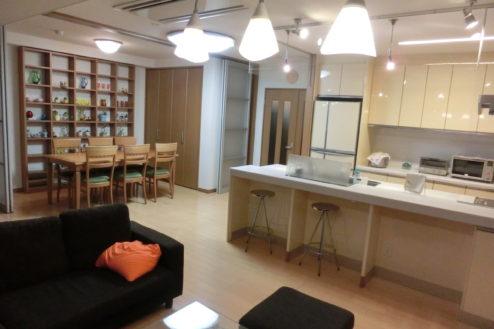 6.高商新宿二丁目マンションスタジオ|リビング