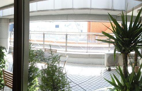 9.高商新宿二丁目マンションスタジオ|バルコニー