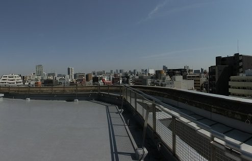 19.高商新宿二丁目マンションスタジオ|屋上