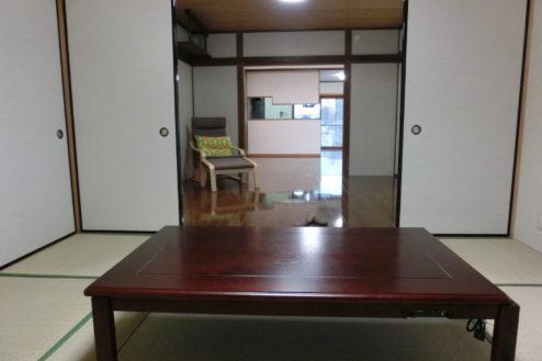 3.つつじヶ丘マンションスタジオ|家具付き和室・洋室