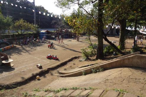 4.保育園|園庭