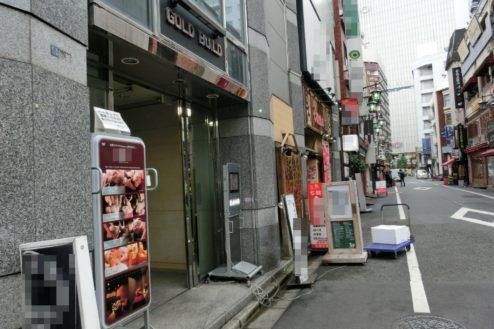 13.新宿3丁目オフィススタジオ|ビル前通り