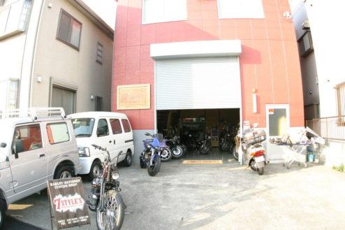 1.ハーレー・ガレージ|外観