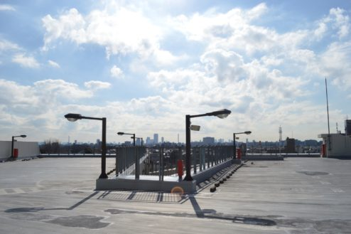 4.赤羽駅西口駐車場|屋上駐車場全体