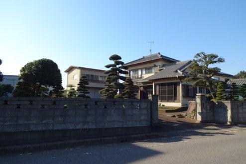 18.日本家屋・民家|門外から外観