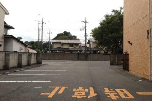 12.太田病院|駐車場