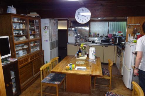 11.流山の民家|キッチン