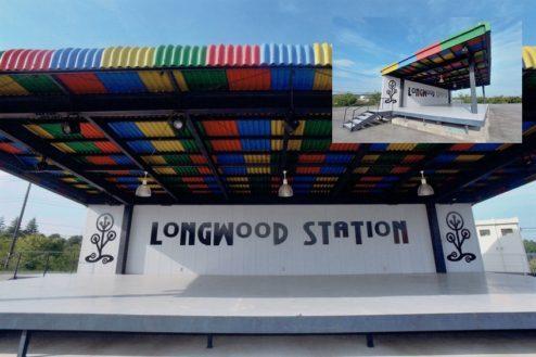 12.ロングウッドステーション|16mの野外ステージ