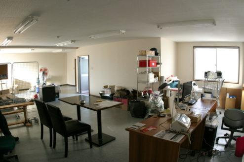 2.ハーレー・ガレージ|2Fオフィス