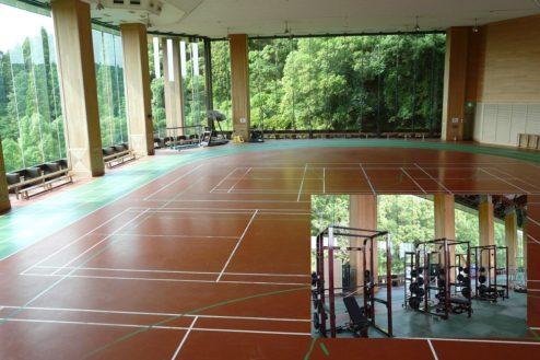 4.リソル生命の森|3F室内トラック・トレーニングエリア