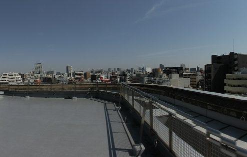 5.高商新宿二丁目スタジオ屋上