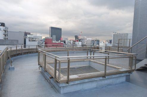 1.高商新宿二丁目スタジオ屋上