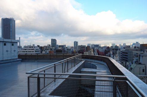 高商新宿二丁目スタジオ屋上|ハウススタジオ・ビル|東京