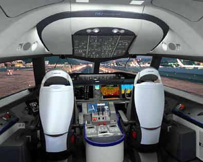 3.飛行機スタジオ(モックアップ)|コックピット