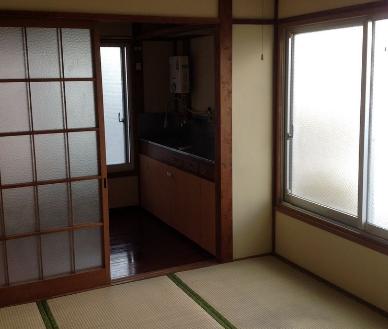 3.アパート1 和室