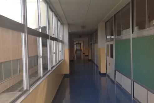 1.学校1(South Area)|廊下
