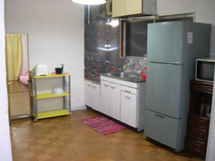 ⑩Eスタジオ|2F201号室キッチン