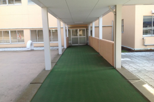 11.学校1(South Area)|屋外渡り廊下
