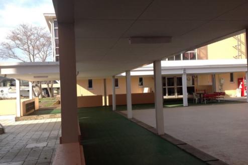 12.学校1(South Area)|屋外渡り廊下