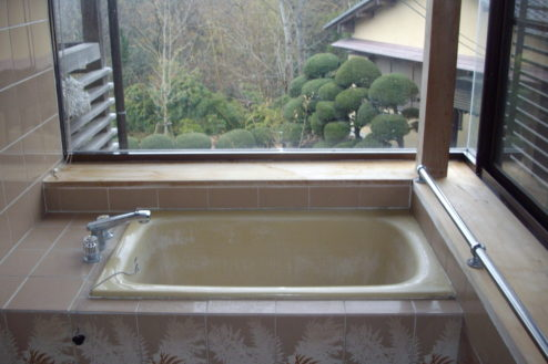 9.日本家屋・筑波山|浴室