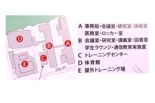 14.学校1(South Area)|校舎配置図