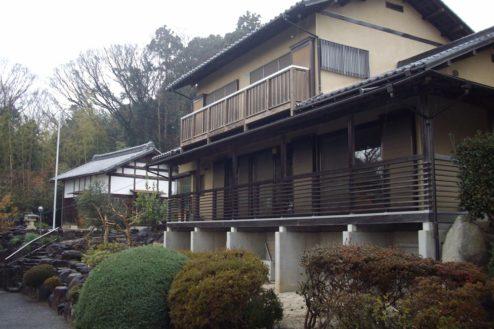 13.日本家屋・筑波山|母屋と蔵