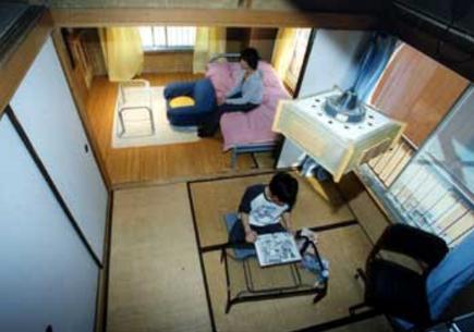 15.Eスタジオ|俯瞰イメージ(202号室)