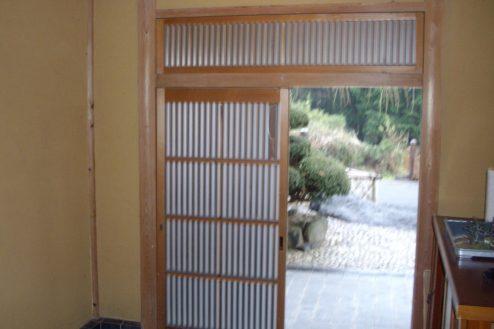 9.日本家屋・筑波山|玄関