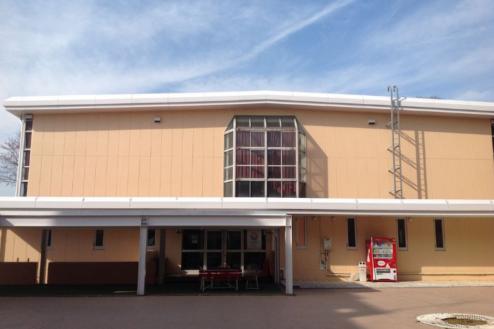 3.学校1(South Area)|体育館外観