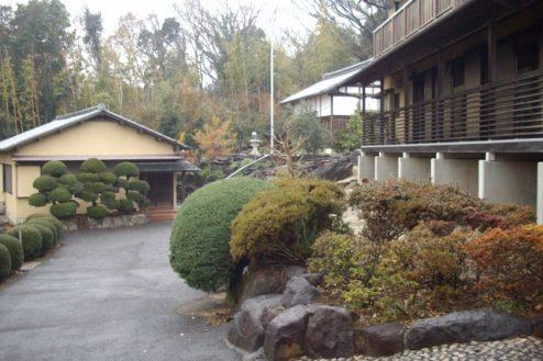 14.日本家屋・筑波山|母屋、離れ、蔵配置