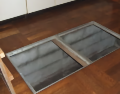 14.Kスタジオ|台所にある1畳の床下収納