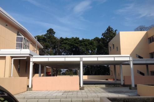 9.学校1(South Area)|屋外渡り廊下