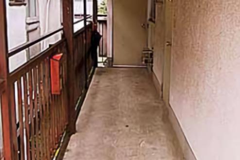19.Eスタジオ|外通路