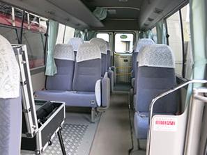 メイクバス・車内スペース