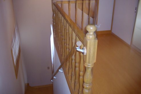 8.日本家屋・筑波山|階段