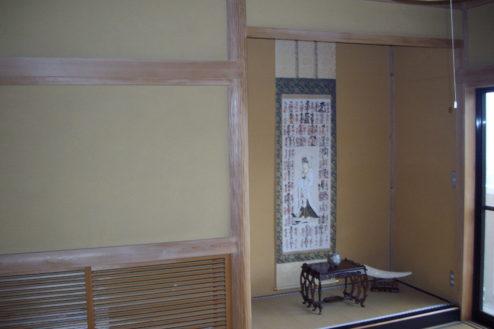 7.日本家屋・筑波山|床の間
