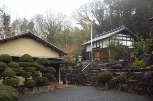 17.日本家屋・筑波山|離れと蔵