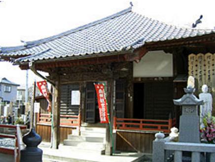 六角形のお堂が特徴的な寺|応接室・和室・住職